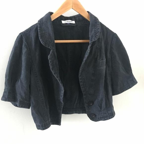 9cf13ba24e4e8 LAST CHANCE! Black Cropped Jacket. M 59dbb526c6c795eb7d045b42