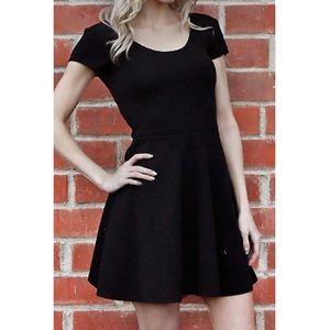 Planet Gold Dresses & Skirts - Black Skater Dress