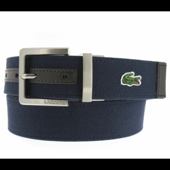 57 lacoste other lacoste mens reversible navy