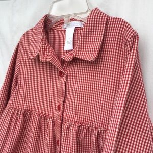 Janie and Jack Other - Red Gingham Dress