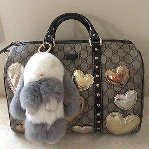 Authentic Gucci Heart ❤️ 💕 Love Boston Bag