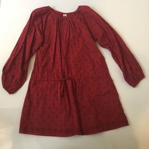 Beautiful Burgundy Dress By Ketiketa size 8/10
