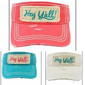 Bewitched Boutique Accessories - 🆕 Hey Y'all Visor