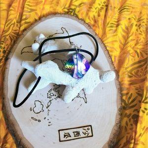 Dichroic Art Glass Pendant