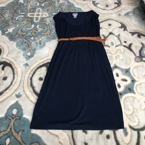 Motherhood Maternity Navy Blue Dress