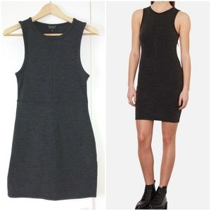 Topshop Dresses & Skirts - Topshop knit dress grey sz 8