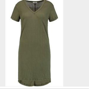 LnA Dresses & Skirts - LnA casual olive t-shirt dress