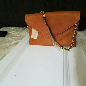 New Jcrew  small  genuine leather reduced final!!!