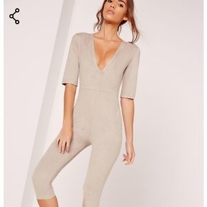 """New Missguided Unitard Jumpsuit"""