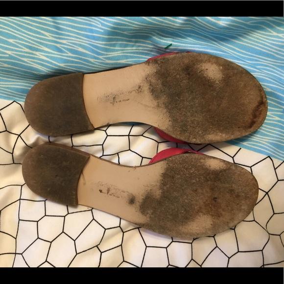 Salvatore Ferragamo Shoes - Salvatore Ferragamo Pink Slides