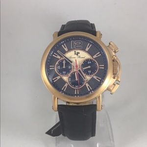 Lucien Piccard Other - Lucien piccard rose gold men's chronograph watch
