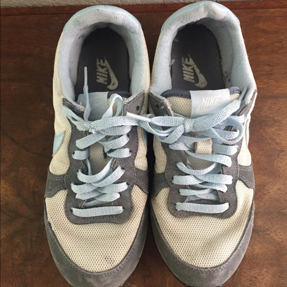off Nike Shoes Nike Grey baby blue and white