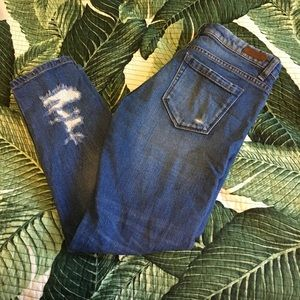 Blank NYC Denim - BLANK nyc skinny distressed ankle jeans
