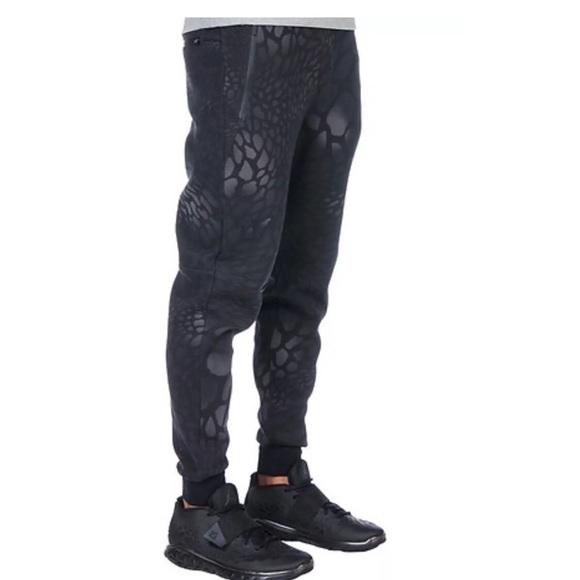 e03b9287e1f Air Jordan Pants | Retro 4 Cat Print Fleece Joggers Xl | Poshmark