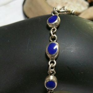 Jewelry - Solid 925 Silver Bracelet and Earrings