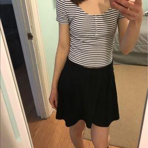 No Boundaries Dresses & Skirts - Black Circle Skirt