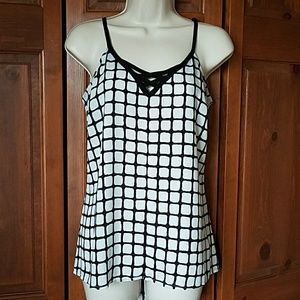 Studio Y Tops - Maurices Studio Y Black and White Top