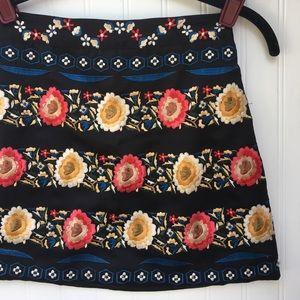 Topshop Dresses & Skirts - 🌹TOPSHOP embroidered skirt