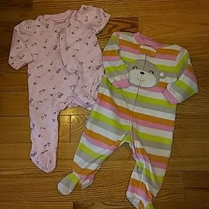 Infant pajamas, size 6 months