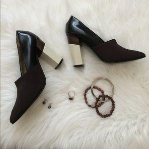 Color block Marni heels