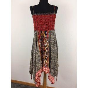 Angie Dresses & Skirts - Angie Smocked High Low Sundress Sz Sm