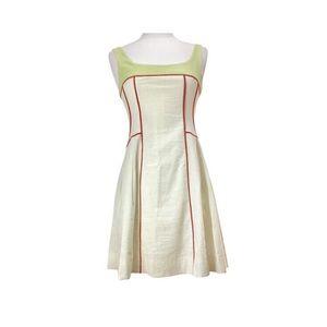 Summer Rhapsody Sleeveless Linen Dress