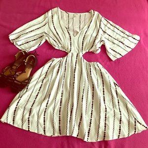 Solemio Dresses & Skirts - Bohemian flowy dress