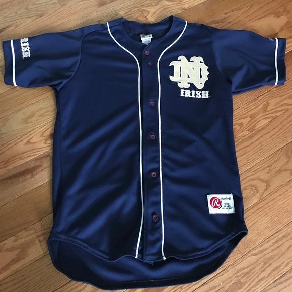 new style 81cba c788a Notre Dame Baseball Jersey