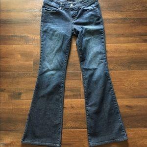 Divine Rights of Denim Denim - Dark Denim Flare-Cut Jeans 👖