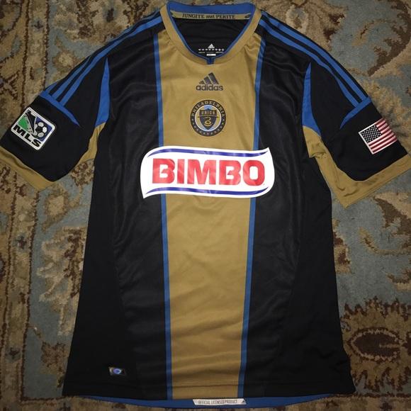 Philadelphia Union MLS Adidas Soccer jersey