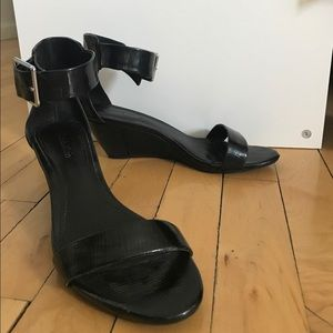 Calvin Klein Shoes - Gorgeous Calvin Klein Patent Leather Sandals