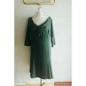 IGIGI pine green dress