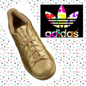 adidas Shoes - Adidas gold classic Superstar sneakers