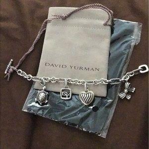David Yurman Jewelry - David Yurman charm bracelet