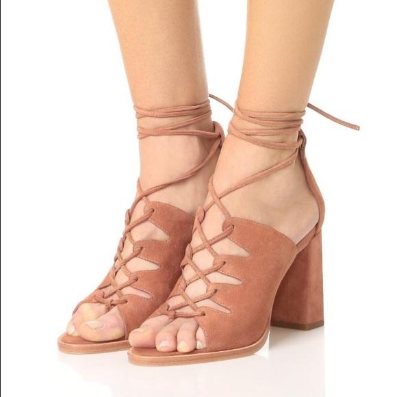 Loeffler Randall 2017 Helene Lace-Up Sandals cheap sale lowest price v7uusyVr