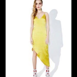 dollskill Other - Chartreuse dress