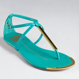 DV by Dolce Vita Shoes - ***NWOB*** DV by Dolce Vita turquoise sandals