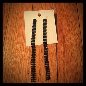 H&M Jewelry - H&M drop long earrings