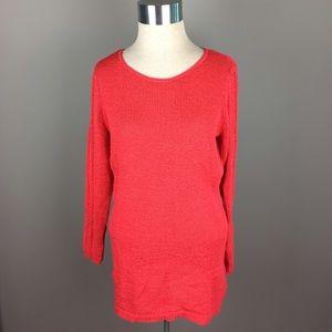 Rachel Zoe open knit detail sweater top