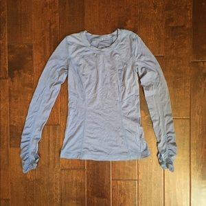 Lululemon Purple/Blue Long Sleeve