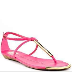 DV by Dolce Vita Shoes - DV by Dolce Vita vibrant pink sandals