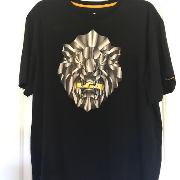 nike shirts drifit lebron james lion tshirt poshmark