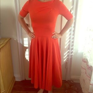 🌷Gorgeous coral vintage inspired size 2 from ASOS