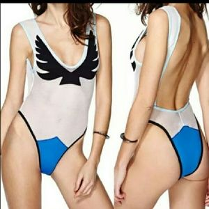 Other - Firebird Sexy Mesh One piece/Bodysuit Swimsuit