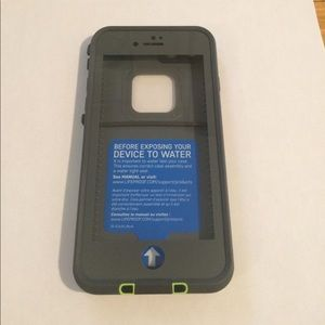 LifeProof Accessories - LifeProof Grey and Green Case For iPhone 7