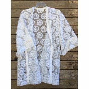 Cole of California Other - Cole of California // Vintage Lace Kimono
