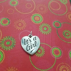 James Avery Jewelry - JAMES AVERY RETIRED    IT'S  A GIRL CHARM