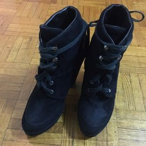 Dolce Vita Lace-up Booties