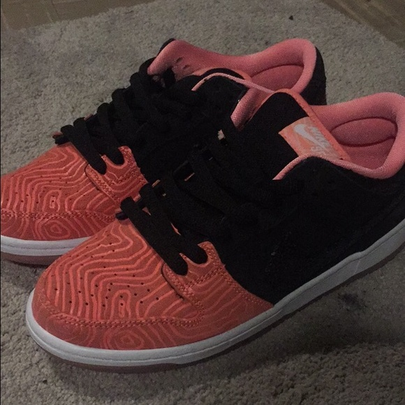 30 off nike other nike dunk low sb premier fish ladder for Fish shoes nike
