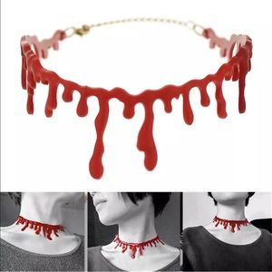 Jewelry - Gothic choker statement necklace NEW in bag